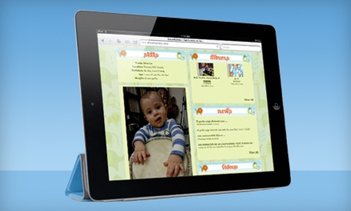 AboutMyBaby.com: Monthly or Annual Membership to AboutMyBaby.com's Online Scrapbooking Community