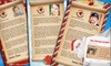 Three Buck Luck LLC: One, Two, or Three Personalized Letters and Videos from Santa from Social North Pole (Up to 67% Off)