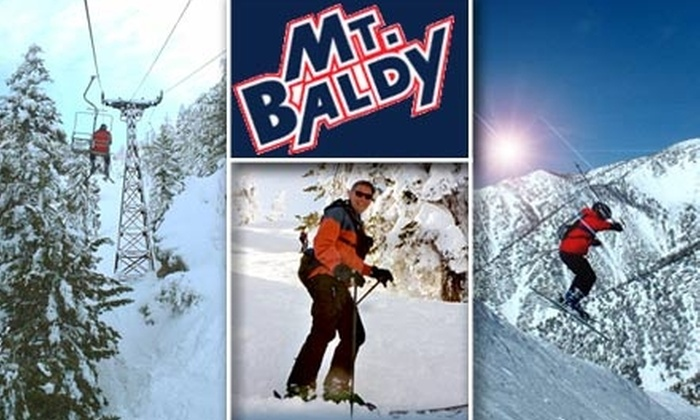 Mt Baldy - Mount Baldy-Wrightwood: $29 Lift Ticket to Mt. Baldy Ski Area (Up to $64 Value)
