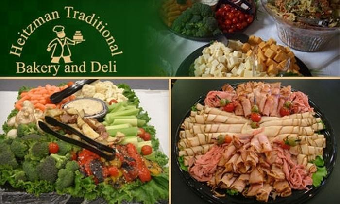 Heitzman Traditional Bakery & Deli - Multiple Locations: $5 for $10 Worth of Bulk Deli Items at Heitzman Traditional Bakery & Deli