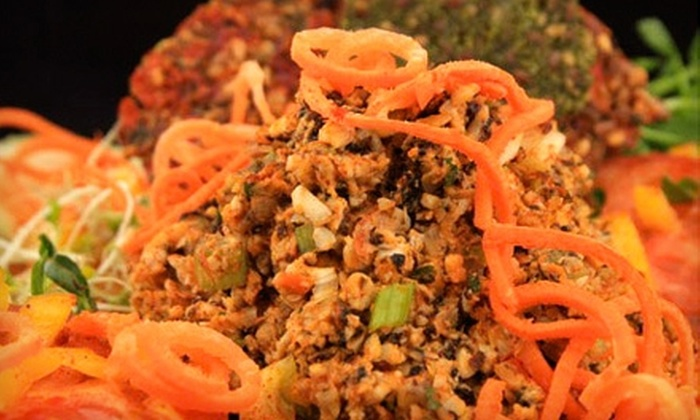 Live Island Cafe - Huntington: $10 for $20 Worth of Organic Vegan Cuisine at Live Island Cafe in Huntington