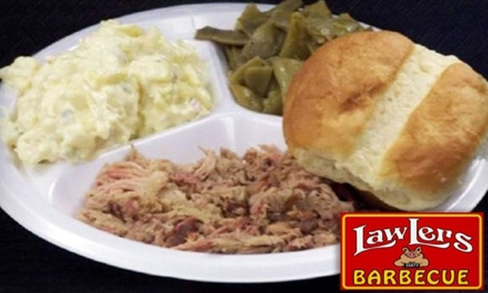 LawLers Barbecue Express 5 - Huntsville: $6 for $12 Worth of Barbecue at LawLers Barbecue Express 5