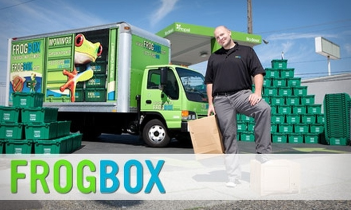 FROGBOX - Toronto (GTA): $50 for $150 Worth of Moving Boxes & More from Frogbox