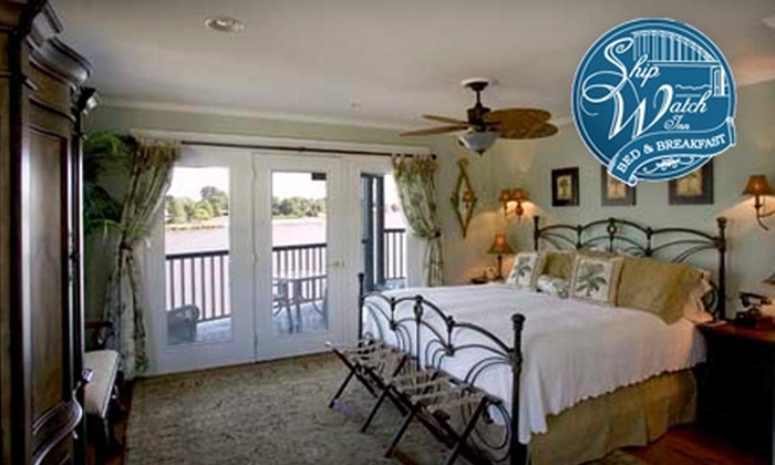 Ship Watch Inn Bed and Breakfast - Cape St. Claire: Reservation at Ship Watch Inn Bed and Breakfast. Choose Between Two Options.