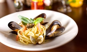 Scotto's Café: Italian Food and Drinks at Scotto's Café (Up to 47% Off). Two Options Available.