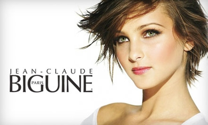 Jean-Claude Biguine  - Multiple Locations: $55 for Shampoo, Cut, Blow Dry, and Kérastase Treatment at Jean-Claude Biguine ($109 Value)