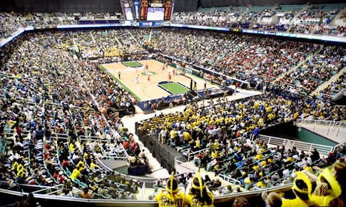 University of North Carolina Greensboro Spartans Men's Basketball - Greensboro: One Ticket to UNC Greensboro Men's Basketball Versus North Carolina A&T at Greensboro Coliseum on November 28 ($25.15 Value)