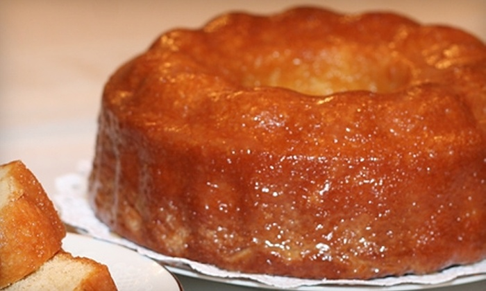 Goodway Bakery - Troy: $10 for $20 Worth of Baked Goods from Goodway Bakery, Or $15 for Famous Bundt Cake ($29.95 Value)