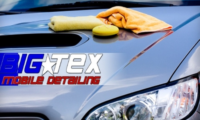 Big Tex Mobile Detail - Ballantyne West: $65 for a Detail and Wash from Big Tex Mobile Detail (Up to $250 Value)