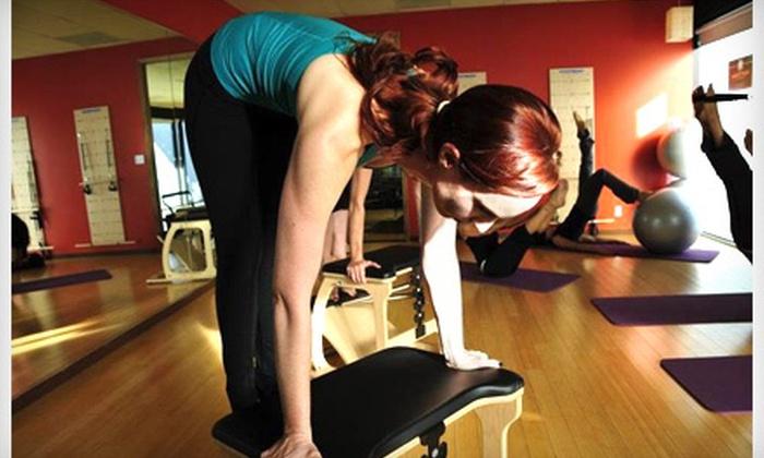 Hunt Pilates - Sherman Oaks: 5 Pilates Mat Classes or 5 or 10 Equipment Classes at Hunt Pilates in Sherman Oaks (Up to 64% Off)