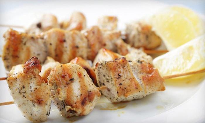 BiBi's on Corydon - Varsity View: $15 for $30 Worth of Greek and Persian Dinner Fare at BiBi's on Corydon