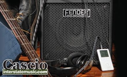 $30 Groupon to Cascio Interstate Music - Cascio Interstate Music in New Berlin