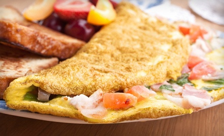 $20 Groupon for Beachside Brunch 7-11 a.m. - The Beach Bucket in Ormond Beach