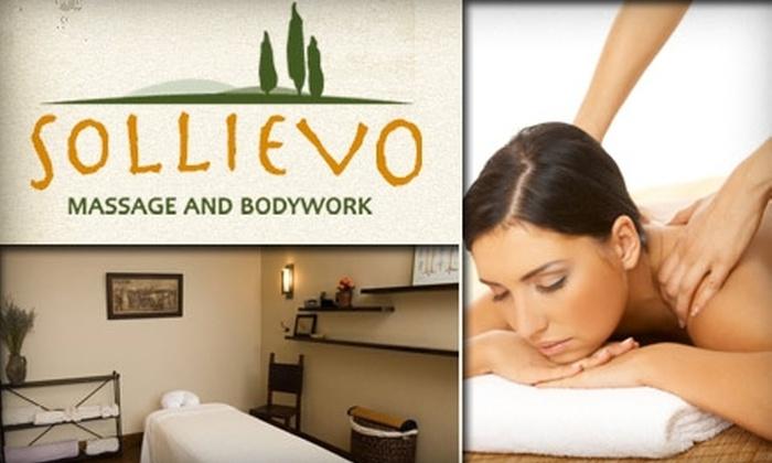 Sollievo Massage and Bodywork - North Cambridge: $45 for a One-Hour Massage at Sollievo Massage and Bodywork ($80 Value)
