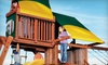 Superior Play Systems - Greensboro: $18 for Five Pay-to-Play Sessions (Up to $36 Value) or $99 for a Weekend Children's Birthday Party ($249 Value) at Backyard Paradise in Greensboro