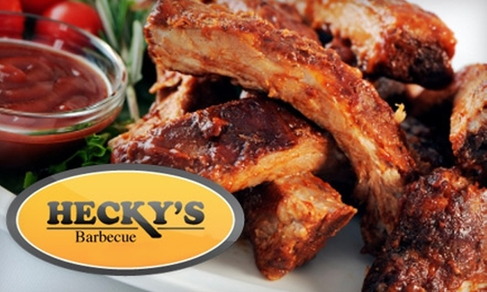 Hecky's Barbecue - Evanston: $10 for $20 Worth of Barbecue and Drinks at Hecky's Barbecue in Evanston