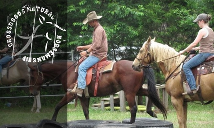 Crossroads Ranch - 5: $25 for a Private Horseback-Riding Lesson at Crossroads Ranch in Nolensville ($50 Value)