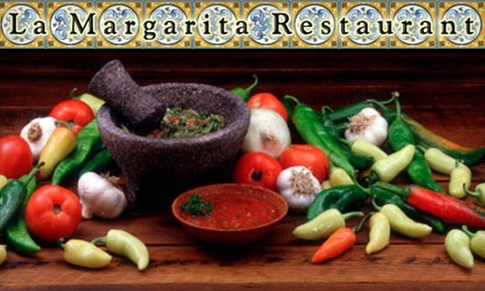 La Margarita - College Commons: $7 for $15 Worth of Mexican Lunch Fare or $15 for $30 Worth of Dinner Fare at La Margarita
