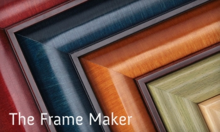 The Frame Maker - Kalamazoo: $40 for $100 Worth of Custom Framing at The Frame Maker