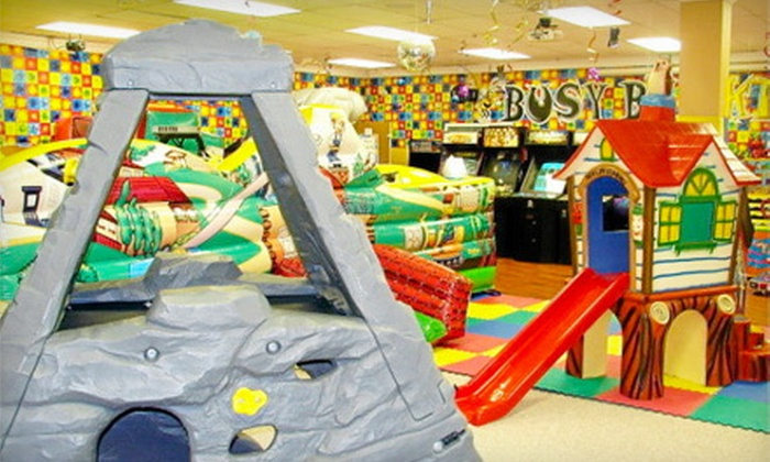 Busy Bee Kidz - Cooper City Commerce: 12 Visits or One Year of Unlimited Visits for One or Two Children at Busy Bee Kidz in Cooper City (Up to 52% Off)