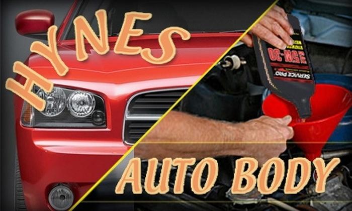 Hynes Auto Repair - Brighton: $99 for an Oil Change and Interior/Exterior Detailing at Hynes Auto Repair ($200 Value)