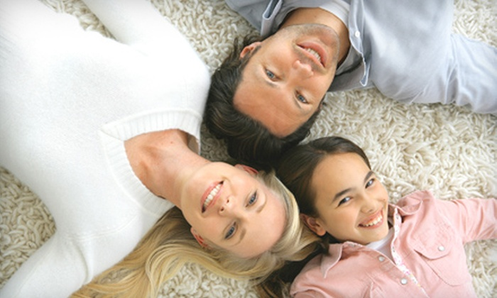 South of the River Carpet Cleaning - Woodbury: Carpet Cleaning for 4, 6, or 10 Areas from South of the River Carpet Cleaning (Up to 57% Off)