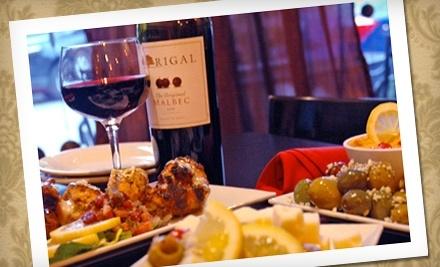 $22 Groupon to La Gra Italian Tapas & Wine Bar   - La Gra Italian Tapas & Wine Bar in St. Louis
