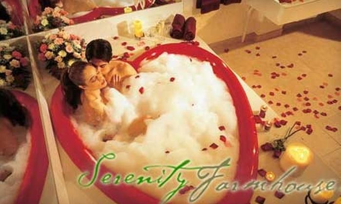 Serenity Farmhouse Inn - Dripping Springs-Wimberley: Up to 63% Off Your Stay at Serenity Farmhouse Inn.  Choose from Three Options.