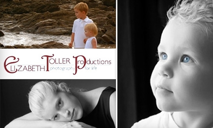 Elizabeth Toller Productions - Orange County: $59 for a Photo Session and Photo Book at Elizabeth Toller Productions ($195 Value)