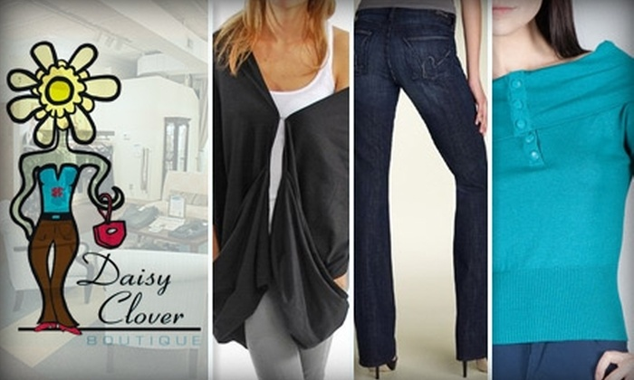 Daisy Clover Boutique - Webster Groves: $30 for $75 Worth of Jeans, Apparel, and Accessories at Daisy Clover Boutique
