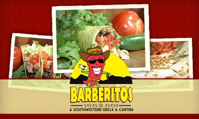 Barberitos - Roswell: $10 for $20 Worth of Burritos, Tacos, and More at Barberitos in Roswell
