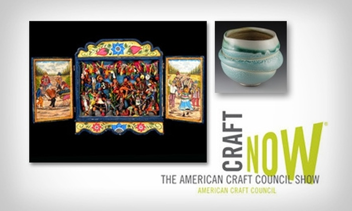 American Craft Council Show - Northwestern Precinct: $5 One-Day Admission Pass to The American Craft Council Show ($10 Value)