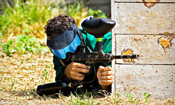 Country Fun Park Raleigh - Pleasant Grove: Paintball Package for One with All-Day Air, Driving-Range Balls for Two, or One Hour of Archery for Two at Country Fun Park in Angier (Up to 75% Off)