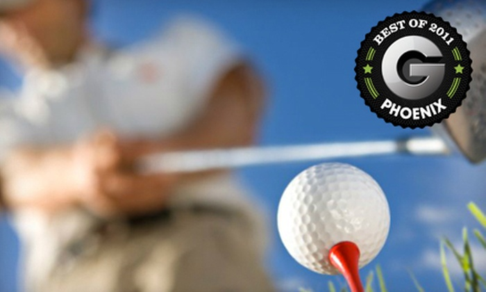 Shalimar Country Club - Shalimar Golf Club: Nine-Hole Golf Outing for Two or Four with Cart, Balls, and Snack at Shalimar Country Club in Tempe (Up to 64% Off)
