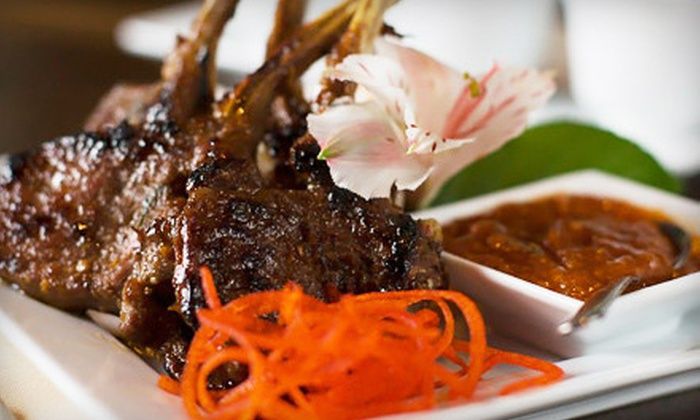 China Spice - Journal Square: Two-Course Dinner for Two or Four at China Spice in Jersey City (Up to 58% Off)