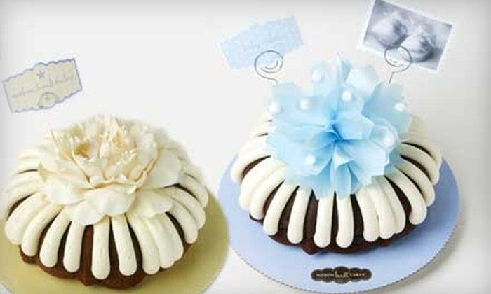 10 For Baked Goods At Nothing Bundt Cakes