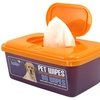 Precious Tails Pet Wipes with Easy Pop-Top Dispenser (80-Count)