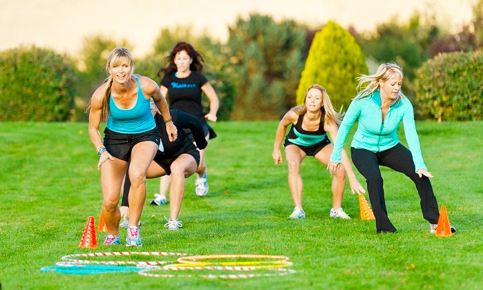 Kaia FIT 4S Ranch - Rancho Bernadino: Five-Week Core Session or Six-Week Brik Boot-Camp Session for Women at Kaia FIT 4S Ranch (Up to 74% Off)