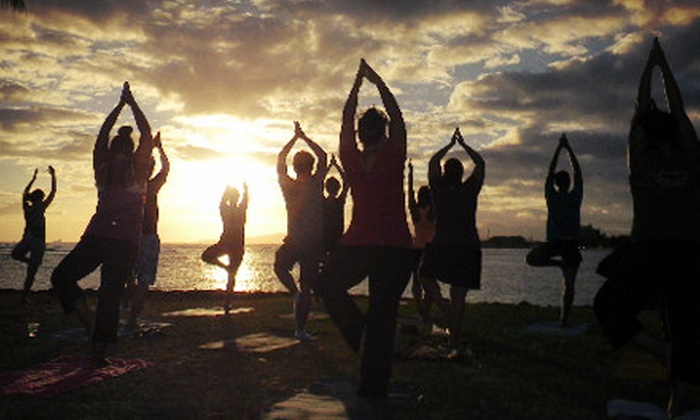 Beach | Sunset Yoga Hawaii - Multiple Locations: Four Morning or Sunset Yoga Sessions on the Beach for One or Two from Beach | Sunset Yoga Hawaii (Up to 68% Off)