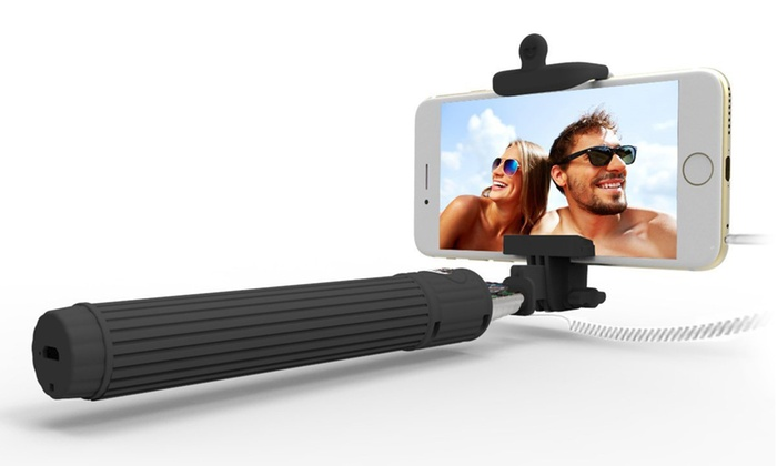 waloo selfie stick groupon goods. Black Bedroom Furniture Sets. Home Design Ideas