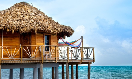 3- or 5-Night All-Inclusive Stay for Two with Boat Transfer and Activities at Thatch Caye Resort in Belize.