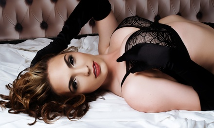$19 for Boudoir Photography Package at Glamour Shots ($409.95 Value). Print and DVD of Images Included.