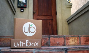 UrthBox: Three-Month Mini, Small, Medium, or Large Tasty Snack Discovery Box from UrthBox (Up to 53% Off)