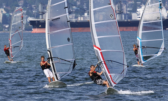 Windsure Windsurfing School - Jericho Sailing Centre : Standup-Paddleboard Lesson or Windsurfing Lesson from Windsure Adventure Watersports (Up to 50% Off)