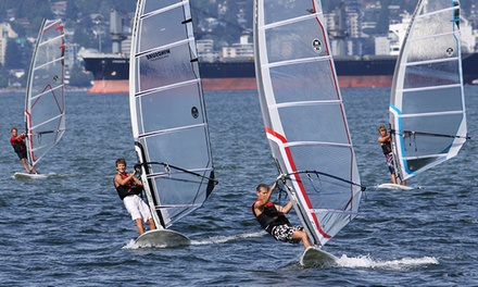 Standup-Paddleboard Lesson or Windsurfing Lesson from Windsure Adventure Watersports (Up to 50% Off)