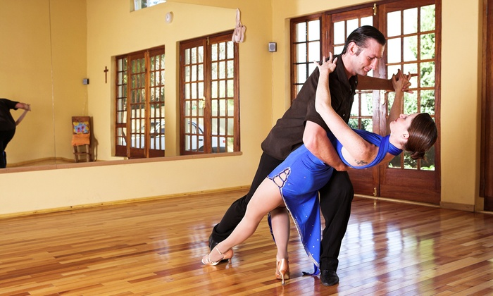 Planet Ballroom - Multiple Locations: Four Private and Group Dance Lessons at Planet Ballroom (Up to 60% Off)