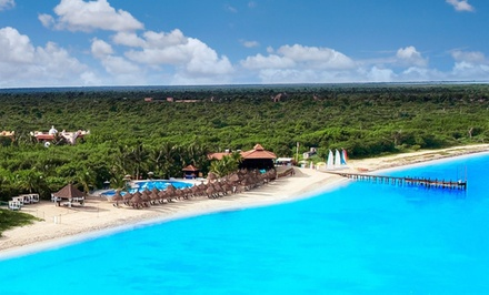 Groupon Deal: 5-Night Occidental Grand Cozumel Vacation with Airfare. Incl. Taxes & Fees. Price Per Person Based on Double Occupancy.