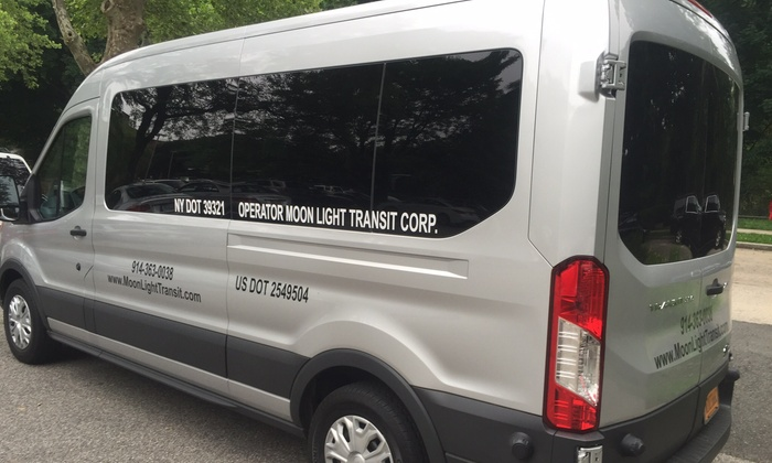 Moonlight Transit Corp - Westchester County: Up to 50% Off Chauffer Tour Services at Moonlight Transit Corp