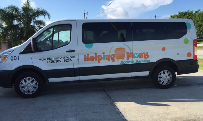 Helping Moms Shuttle Service - Fort Myers / Cape Coral: $20 for $36 Worth of Bus Transportation — Helping Moms Shuttle Service