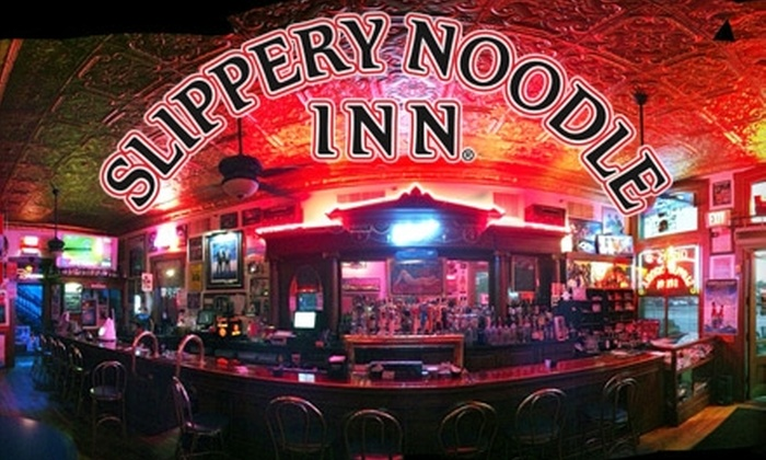 The Slippery Noodle Inn - Central Indianapolis: $15 for $30 Worth of Tavern Fare and Drinks at The Slippery Noodle Inn